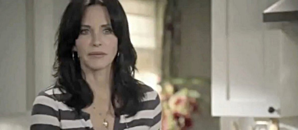Picture shows scenes from the fourth and final part of the Scream franchise, the film is due for release on April 15, 2011. It is also the last time that we will be seeing Courteney Cox and ex husband David Arquette share the big screen since their surprise marriage break down.