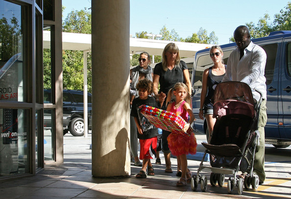 seal and heidi klum children pictures. seal and heidi klum children pictures. Heidi Klum#39;s Children Attend