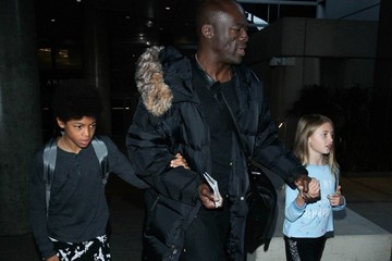 Seal Seal and and Family at LAX