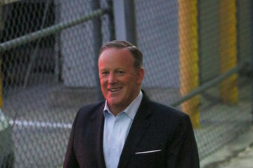 Sean Spicer Sean Spicer Hits 'Jimmy Kimmel Live'