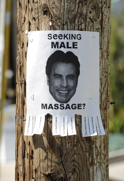 Seeking Male Massage? While John Travolta tries to deal with stories about ...