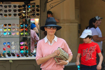 Sela Ward Sela Ward Goes to The Grove