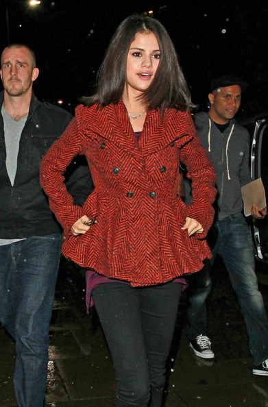 Selena Gomez Selena Gomez is seen out and about on the streets of London.