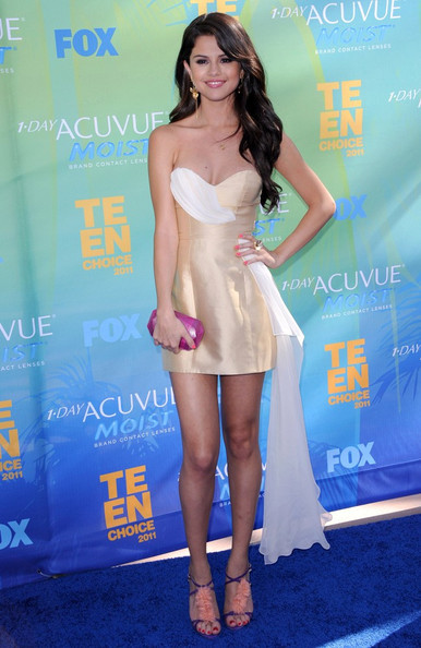 Selena Gomez Teen Choice Awards 2011.Gibson Amphitheatre, Universal City, CA.August 7, 2011.