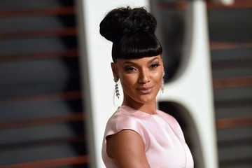 Selita Ebanks Stars at the Vanity Fair Oscar Party