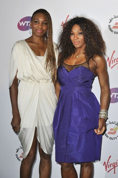 Serena Williams The Pre-Wimbledon Party at Kensington Roof Gardens.