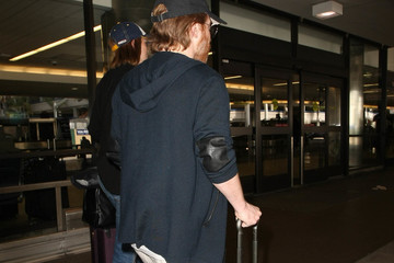 Seth Green Seth Green Is Seen at LAX