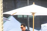 Seth MacFarlane outside the Hollywood Walk Of Fame Star Ceremony