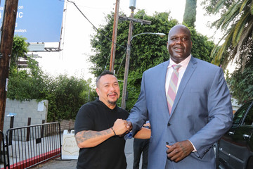 Shaquille O'Neal Shaquille O'Neal Outside of Chateau Marmont