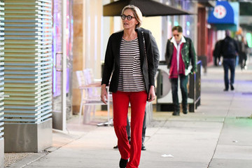 Sharon Stone Sharon Stone Goes Window Shopping In Beverly Hills