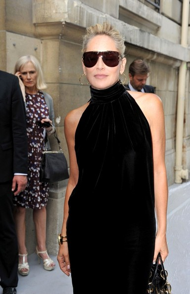 f580a23db70f Sharon Stone Photos - Arrivals for Dior Couture - 4536 of 9027 - Zimbio