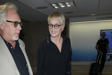 Sharon Stone Sharon Stone at LAX..