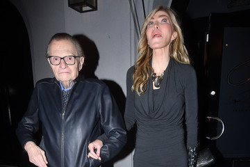 Shawn Southwick Larry King Dines At Craig's Restaurant