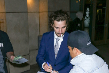 Shia LaBeouf Shia LaBeouf Visits the ArcLight Theatre