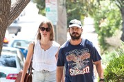 Shia LaBeouf and Mia Goth Out and About