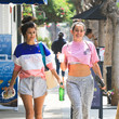Sibylla Deen Natalie Martinez And Sibylla Deen Seen In Beverly Hills