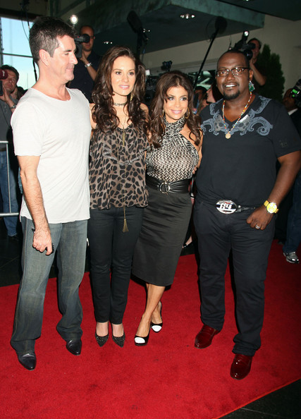 randy jackson american idol season 1. Simon Cowell and Randy Jackson