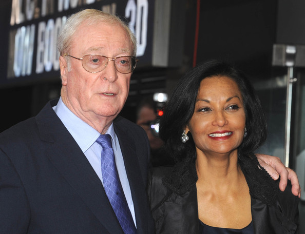 Sir Michael Caine and wife Shakira Baksh - Celebrate Success Awards
