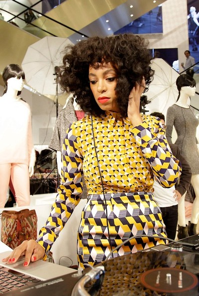 Solange Knowles - Solange Knowles Spins for H&M