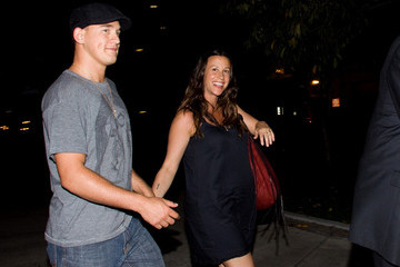 Souleye Alanis Morissette at LAX