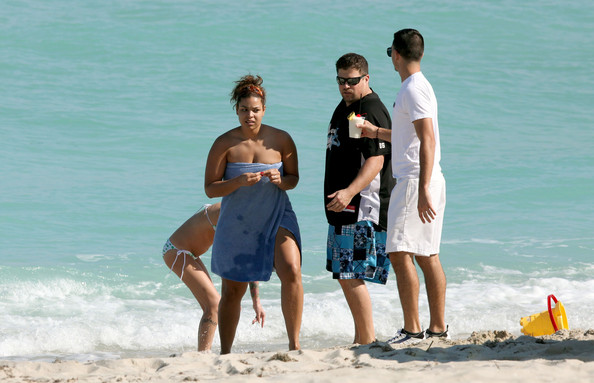 Jordin Sparks on Miami Beach