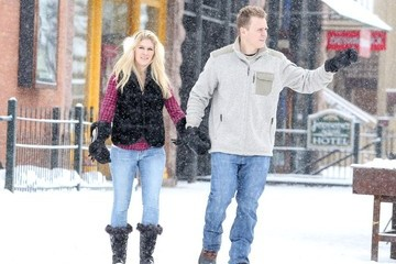 Spencer Pratt Heidi Montag and Spencer Pratt Explore Aspen