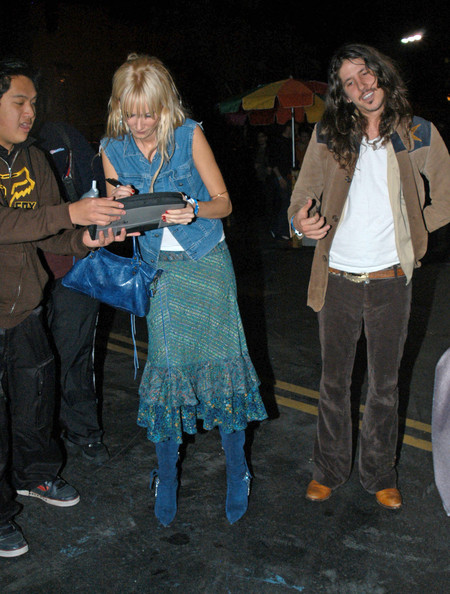 Kimberly Stewart & fiance Cisco Adler