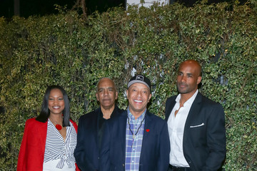 Stan Lathan Celebrities Attend a Fundraising Event Hosted by Sanaa Lathan at Beso