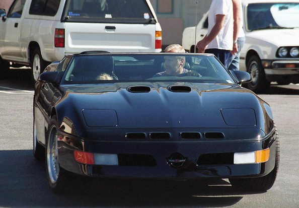 photo of James Cameron Chevy Corvette - car