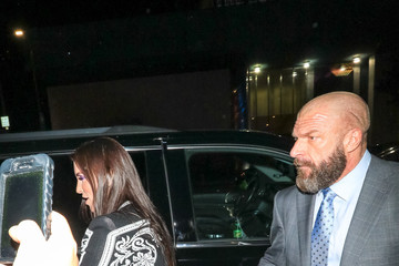 Stephanie McMahon Triple H Outside Andre The Giant Premiere After Party At Lure Nightclub