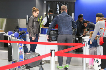 Stephen Amell Stephen Amell Is Seen At LAX