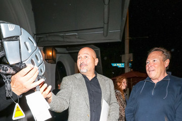 Stephen Cloobeck Stephen Cloobeck Outside Craig's Restaurant In West Hollywood