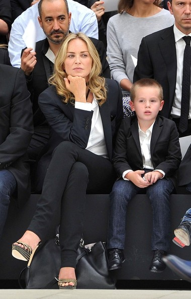 Photo of Sharon Stone & her Son  Quinn Kelly Stone