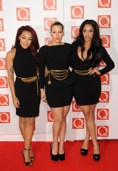 Stooshe - Celebs at the Q Awards 2