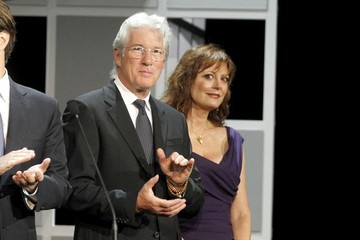 Susan Sarandon Richard Gere Richard Gere and Susan Sarandon at the San Sebastian Film Fest