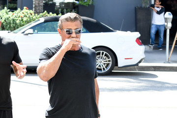 Sylvester Stallone Sylvester Stallone Out in Los Angeles