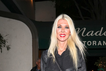 Tara Reid Tara Reid Is Seen Outside Madeo Restaurant in West Hollywood