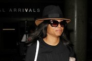 Taraji P Henson Spotted at LAX