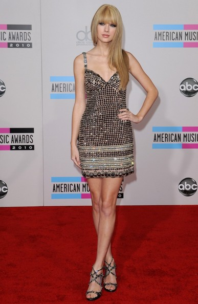 Taylor Swift 2010 American Music Awards - Arrivals.Nokia Theatre L.A. Live, Los Angeles, CA. .November 21, 2010.