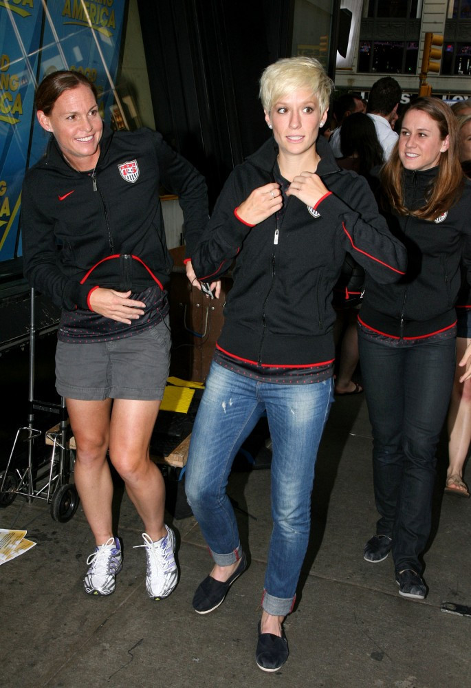 Megan Rapinoe And Christie Rampone Photos Zimbio