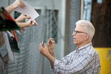 Ted Danson Ted Danson Heads to 'Jimmy Kimmel Live!'
