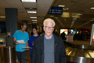 Ted Danson Celebrities at the Salt Lake City Airport