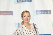 Jennifer Finnigan is seen arriving at The Teen Project's Hollywood Red Carpet Event at TCL Chinese 6 Theatre.