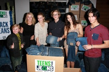 Zachary Alexander Rice Teens for Jeans Kick-off campaign