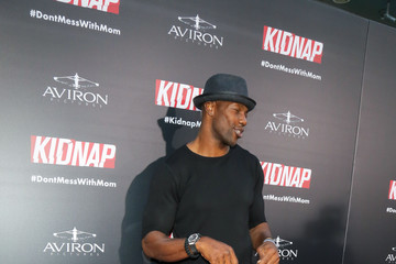 Terrell Owens Premiere of Aviron Pictures' 'Kidnap'