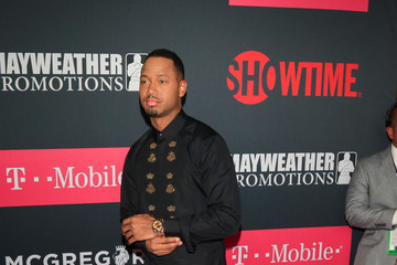 Terrence J VIP Pre-Fight Party Arrivals on the T-Mobile Magenta Carpet for Mayweather VS McGregor