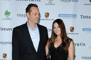 The 2014 Baby2Baby Gala..The Book Bindery, Culver City, California..November 8, 2014..Job: 141108A1..(Photo by Axelle Woussen/Bauer-Griffin)..Pictured: Vince Vaughn and Kyla Weber.