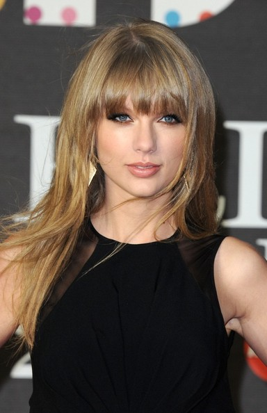 20th February 2013.  The BRIT Awards 2013 held at the O2, Peninsula Square, London.Here, Taylor Swift.