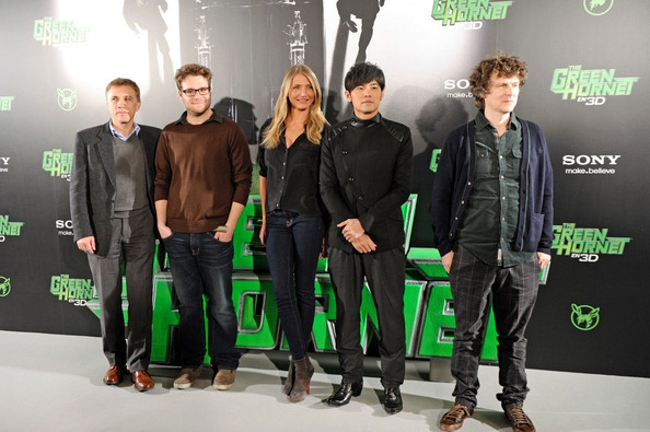 """The Green Hornet"" photocall at the Villamagna Hotel."