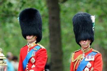 Prince William Prince Charles The Trooping The Colour 2012